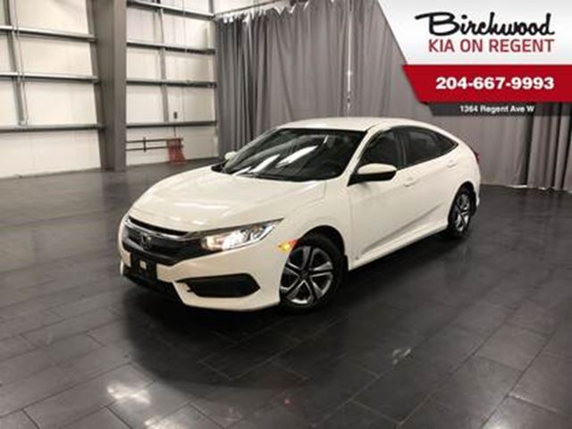 2017 Honda Civic LX *Heated Seats/Bluetooth/Touch Screen* in Winnipeg, Manitoba