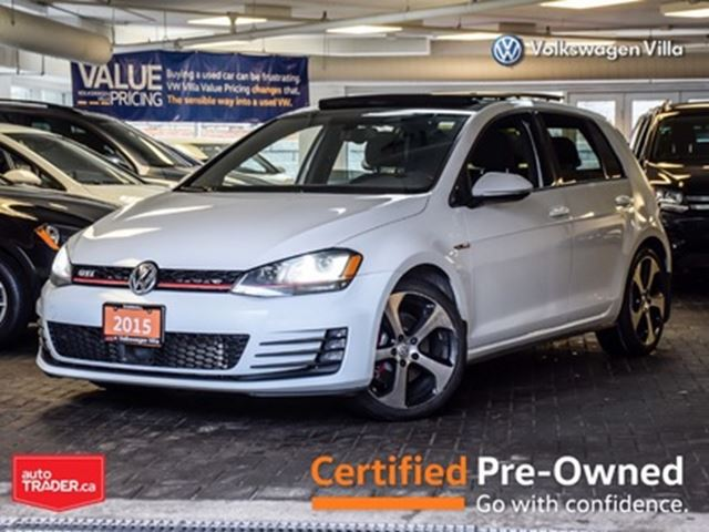 2015 Volkswagen GTI 5-Door Autobahn >>NO ACCIDENT<< in