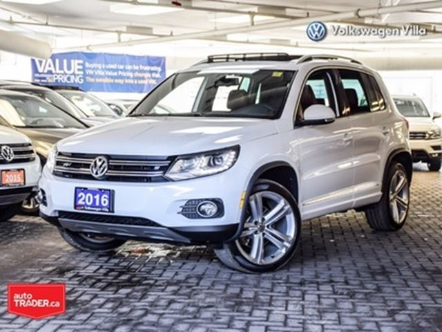 2016 Volkswagen Tiguan Highline R-LINE >>BRAND NEW TIRES AND BRAKES<< in