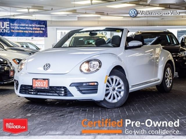 2017 Volkswagen New Beetle  1.8 TSI Trendline >>LOW MILEAGE<< in