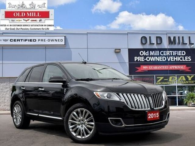 2015 LINCOLN MKX - in Toronto, Ontario