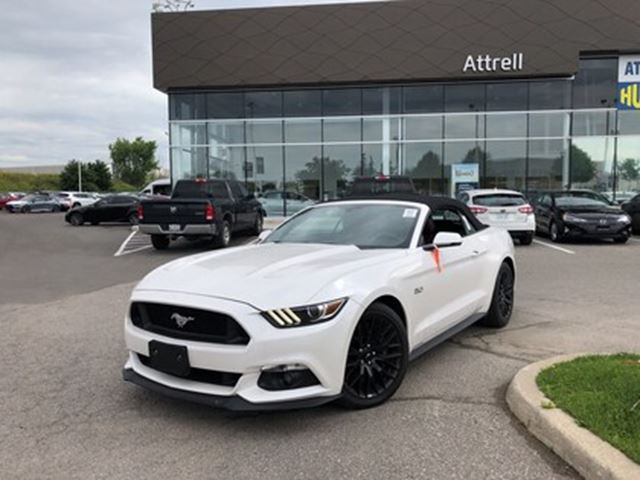 2017 Ford Mustang GT Premium CONVERTIBLE in