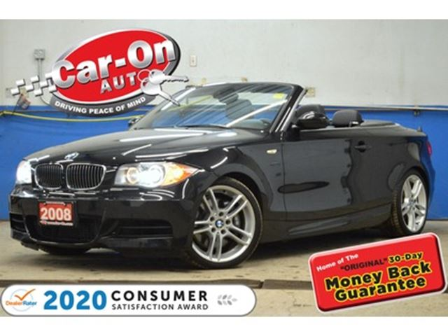 2008 BMW 1 Series 300 HP 6 SPEED CONVERTIBLE LOADED in Ottawa, Ontario