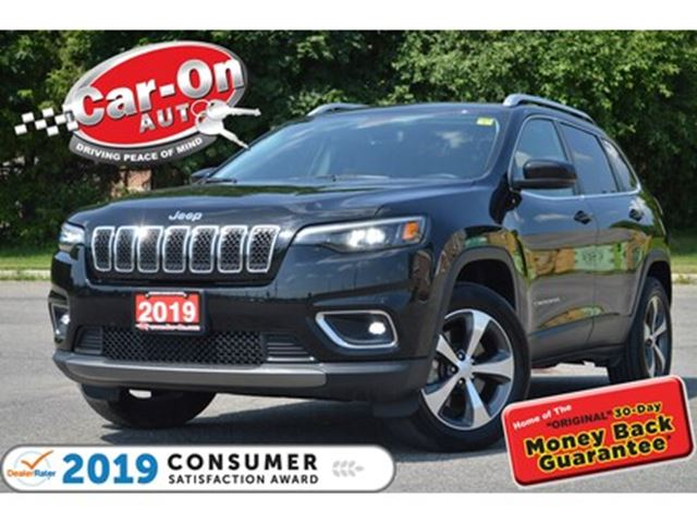 2019 JEEP CHEROKEE Limited 4x4 LEATHER REAR CAM HTD SEATS NAV READY in Ottawa, Ontario