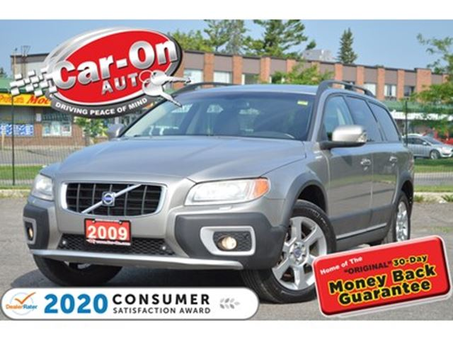 2009 VOLVO XC70 T6 A SR AWD PREMIUM LEATHER SUNROOF HTD SEATS in Ottawa, Ontario