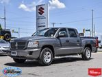 2008 Dodge Dakota SXT Crew Cab 4x4 ~Power Seat ~Hard Tonneau Cover in Barrie, Ontario