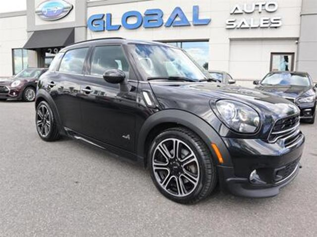 2015 MINI COOPER S ALL4 6 SPEED MANUAL PANOR. ROOF NAVIGATION. in Ottawa, Ontario