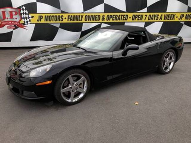 2007 CHEVROLET Corvette Auto, Heads Up Display, Convertible, 59,000km in Burlington, Ontario