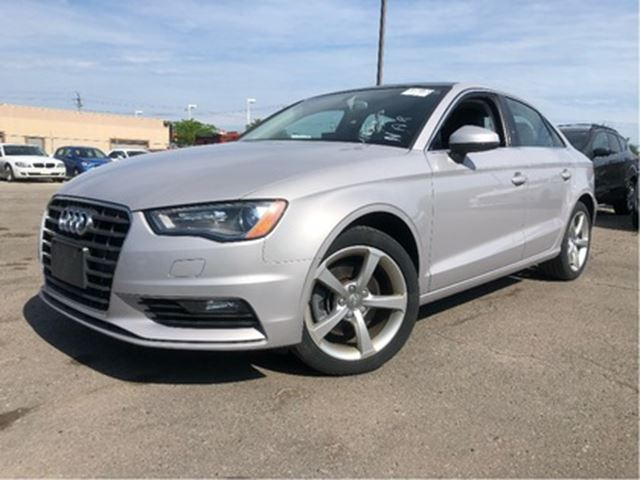 2015 Audi A3 Style Pkg Bluetooth Leather Panoroof - St Catharines