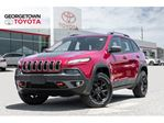 2016 Jeep Cherokee Trailhawk NAVI VENTED SEATS LEATHER PANO ROOF in Georgetown, Ontario