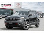 2015 Jeep Cherokee Trailhawk NAVIGATION BACK UP CAM LEATHER PANO ROOF in Georgetown, Ontario