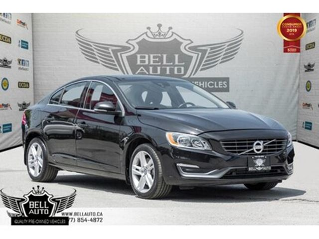 2015 VOLVO S60 T5 Premier Plus, AWD, BACK-UP CAM, SUNROOF, BLINDS in Toronto, Ontario