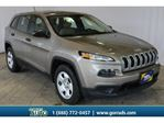 2016 Jeep Cherokee 4x4 ONE OWNER NO REPORTED ACCIDENTS BACKUP CAMERA in Milton, Ontario