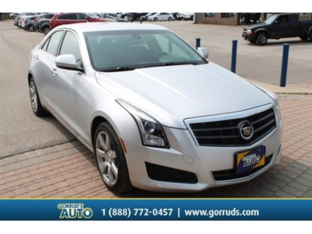 2014 CADILLAC ATS ATS 2.5L RWD NEW BRAKES CLEAN CARFAX LEATHER SEATS in Milton, Ontario
