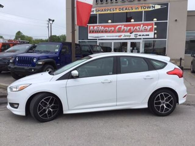 Ford Focus Wheels >> 2015 Ford Focus I 4 Cy Se Back Up Camera Wheels Milton
