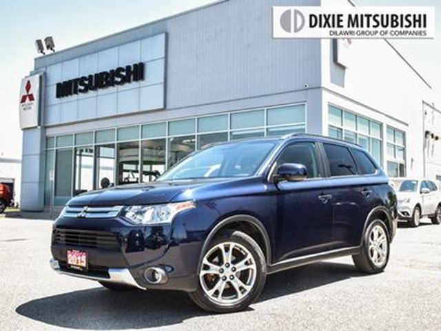 2015 MITSUBISHI OUTLANDER PREMIUM AWC   BACK-UP CAM   MOONROOF in Mississauga, Ontario