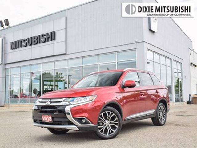 2018 MITSUBISHI OUTLANDER GT S-AWC   LEATHER   360 CAM in Mississauga, Ontario