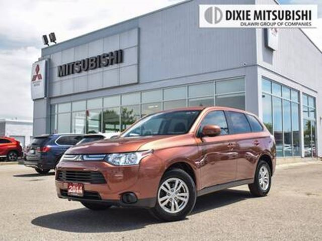 2014 MITSUBISHI OUTLANDER ES   BLUETOOTH   HTD SEATS   ECO MODE in Mississauga, Ontario