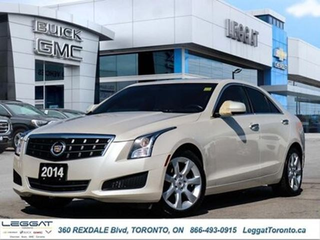 2014 CADILLAC ATS AWD/low Mileage/Leather/Moonroof/Certified in Rexdale, Ontario