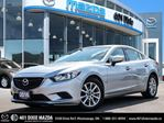2016 Mazda MAZDA6 GX ONE OWNER 1.9% FINANCE AVAILABLE in Mississauga, Ontario