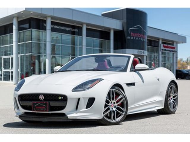 2017 JAGUAR F-TYPE R NAVIGATION LEATHER MERIDIAN SYS BACKUP CAM in Mississauga, Ontario