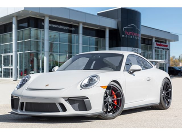2018 PORSCHE 911 GT3 CARBON SEATS NAVIGATION MANUAL BACKUP CAM in Mississauga, Ontario