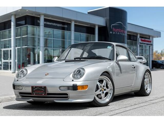 1997 PORSCHE 911 Carrera TECHART MANUAL LOW KMS WHALE TAIL SPOILER in Mississauga, Ontario
