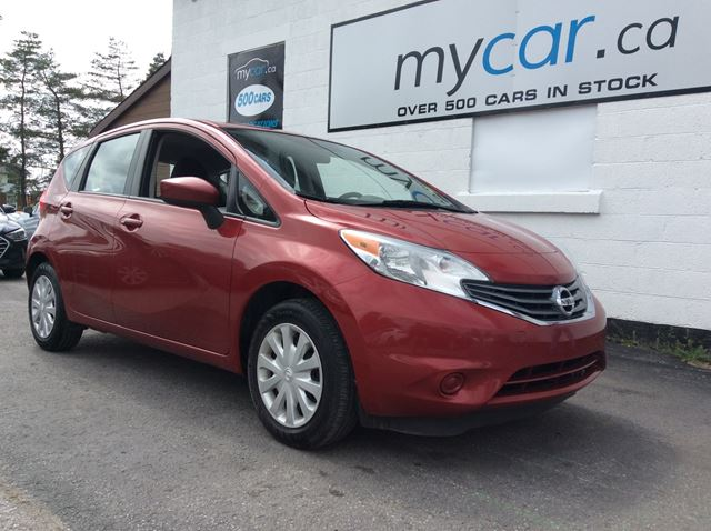 2015 NISSAN Versa 1.6 SV POWERGROUP, A/C, GREAT BUY!! in Kingston, Ontario