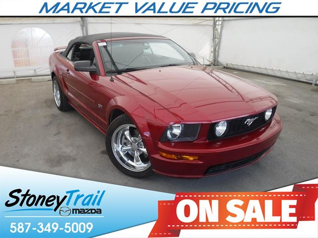 2005 Ford Mustang GT GT CONVERTIBLE - SUPERCHARGED in Calgary, Alberta