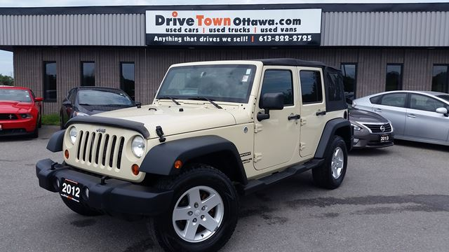 Jeep Wrangler For Sale Ontario >> 2012 Jeep Wrangler Unlimited Sport Automatic Loaded