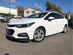 2016 Chevrolet Cruze Bluetooth Back Up Camera Heated Front Seats in St Catharines, Ontario