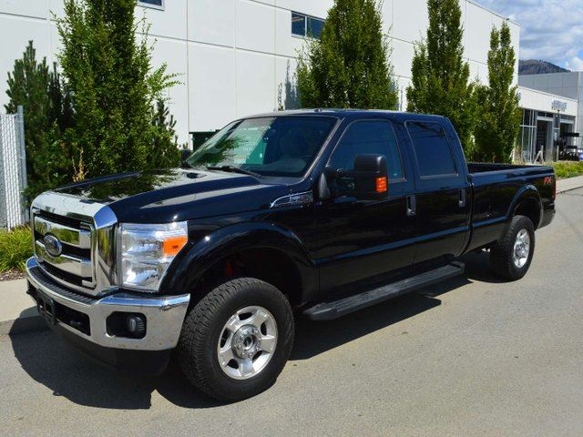 2016 FORD F-250 XLT 4x4 SD Crew Cab 172.0 in. WB in Kamloops, British Columbia