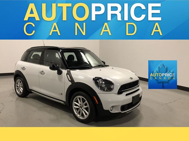 2016 MINI COOPER Countryman Cooper S PANOROOF|LEATHER|AUTO in Mississauga, Ontario