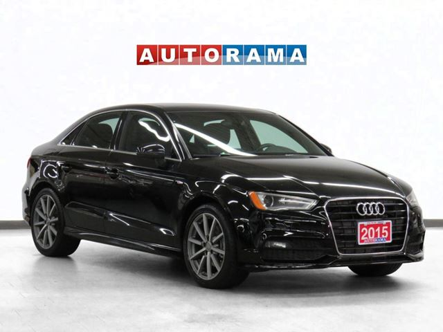 2015 AUDI A3 S-Line Navigation Leather Panoramic Sunroof in North York, Ontario