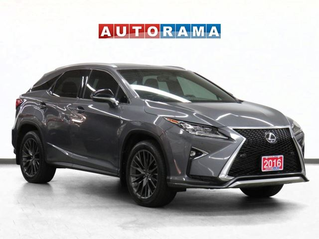 2016 LEXUS RX 350 F- Sport 4WD Navigation Leather Sunroof Backup Cam in North York, Ontario