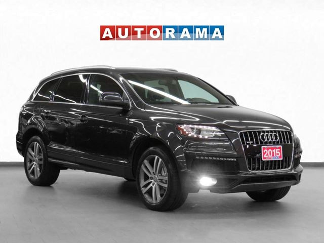 2015 AUDI Q7 3.0T Vorsprung Edition 4WD Nav Leather PSunroof 7P in North York, Ontario