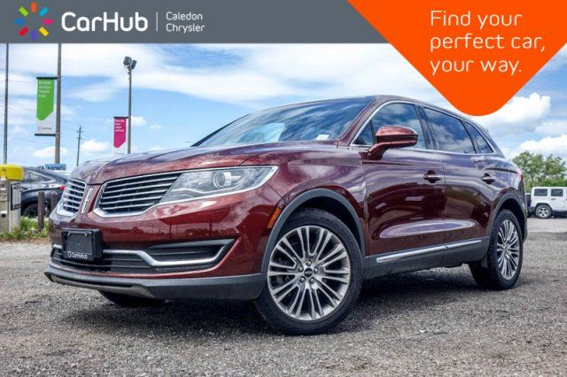 2016 LINCOLN MKX Reserve AWD Navi Pano Sunroof Bluetooth Backup Cam R-Start Blind Spot 20Alloy Rims in Bolton, Ontario