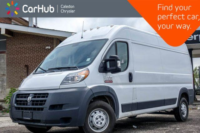 2018 RAM PROMASTER 3500 High Roof 159 WB Backup Cam Bluetooth Keyless Entry in Bolton, Ontario