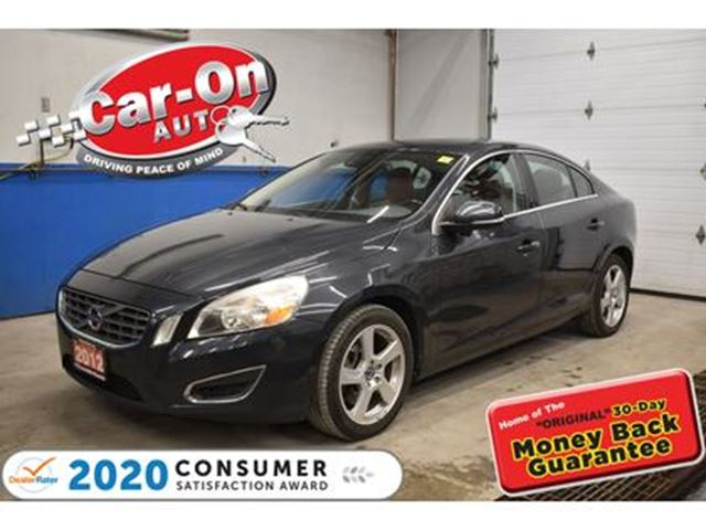 2012 VOLVO S60 T5 LEATHER SUNROOF HTD SEATS BLUETOOTH ALLOYS in Ottawa, Ontario