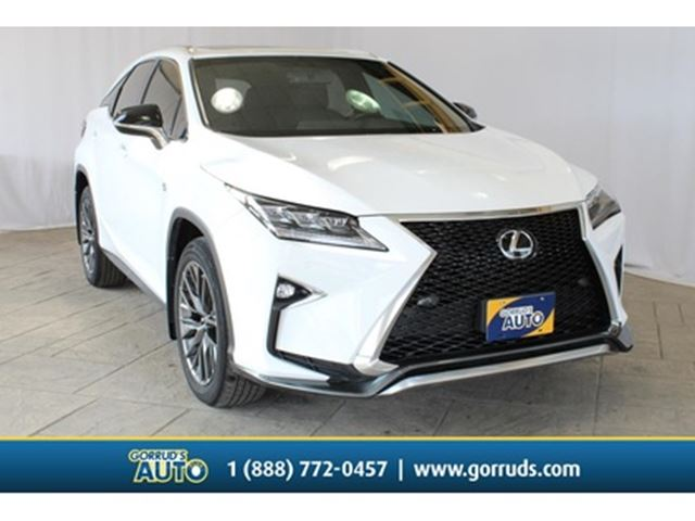 2016 LEXUS RX 350 F-SPORT SERIES 2 LEATHER NAVIGATION CLEAN CARFAX in Milton, Ontario