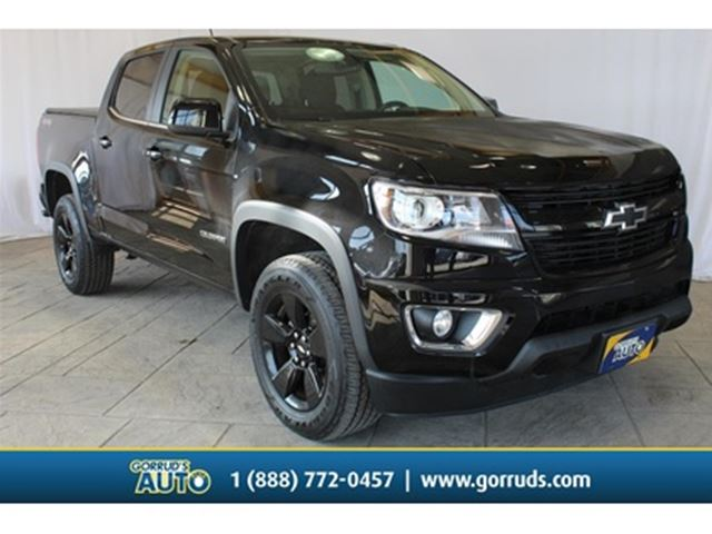 2017 CHEVROLET COLORADO 3.6L LT CREW CAB 4WD LEATHER in Milton, Ontario