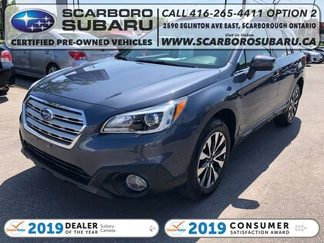 2016 SUBARU OUTBACK 3.6R Limited PKG,FROM 1.99% FINANCING AVAILABLE in Scarborough, Ontario