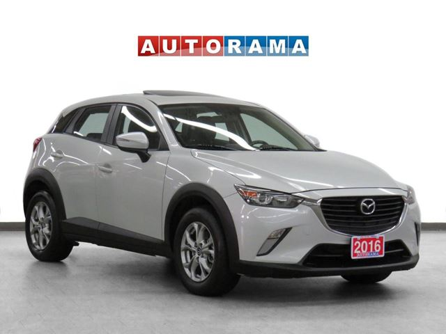 2016 MAZDA CX-3 GS 4WD Leather Sunroof Backup Cam in North York, Ontario