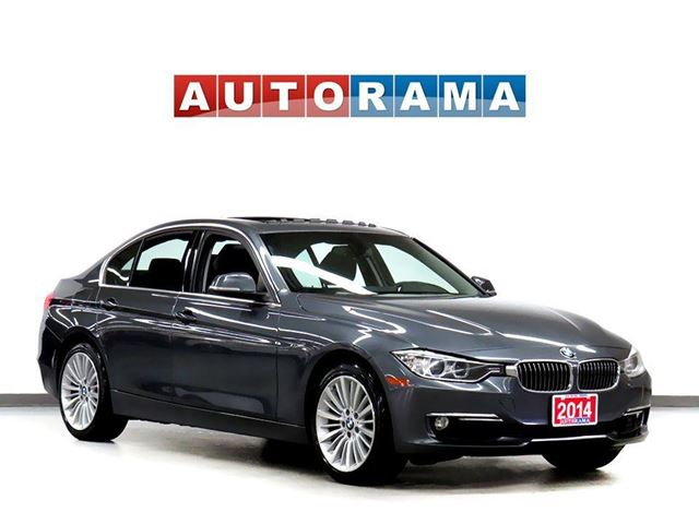 2014 BMW 3 SERIES 328 xDrive 4WD Navigation Leather Sunroof in North York, Ontario