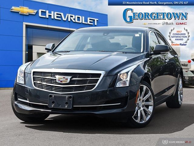 2015 CADILLAC ATS 2.0L Turbo Luxury 2.0L|TURBO|LUXURY|AWD|NAV|CUE|SUNROOF|WIRELESS CHARGING|REARVIEW CAMERA|HEATED SEATS/STEERING WHEEL in Georgetown, Ontario