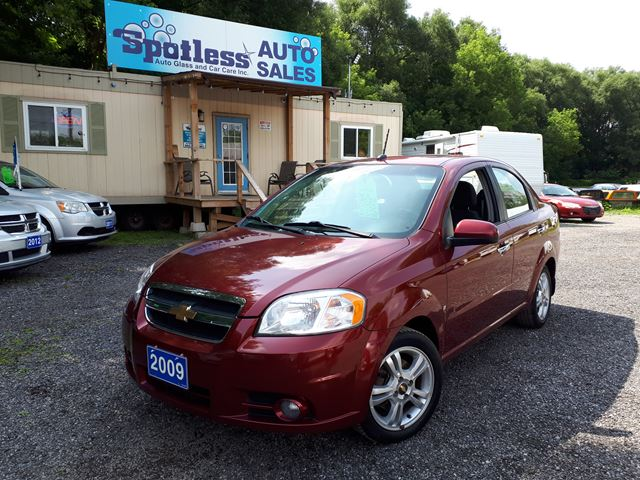 2009 CHEVROLET AVEO LT in Whitby, Ontario