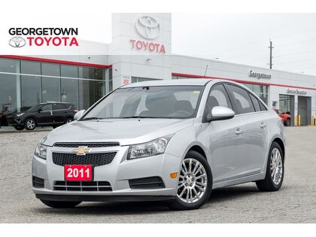2011 CHEVROLET CRUZE ECO CRUISE CONTROL POWER WINDOWS CHROME WHEELS in Georgetown, Ontario