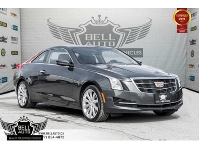 2015 CADILLAC ATS Standard AWD, ONSTAR, BACK-UP CAM, SUNROOF in Toronto, Ontario