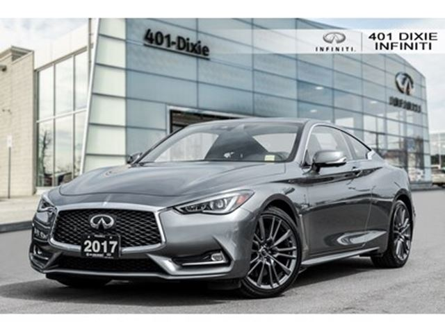 2017 INFINITI Q60 [RED SPORT] [400HP!] [TECH PKG] in Mississauga, Ontario