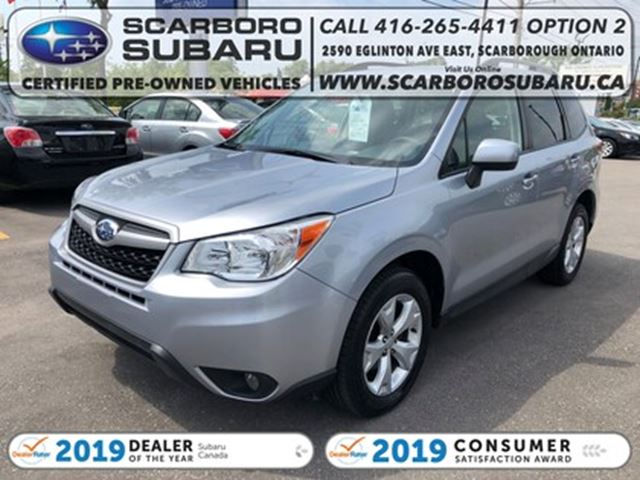 2016 SUBARU FORESTER 2.5i Touring Package w/Technology Pkg Option in Scarborough, Ontario